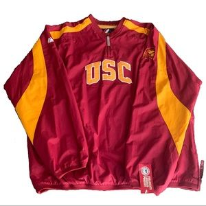 USC College Authentic Pull Over Jacket Sweater